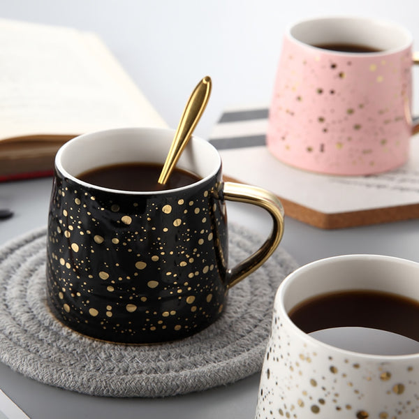 Lauren Ashley Spotted Mug - Villa and Oak
