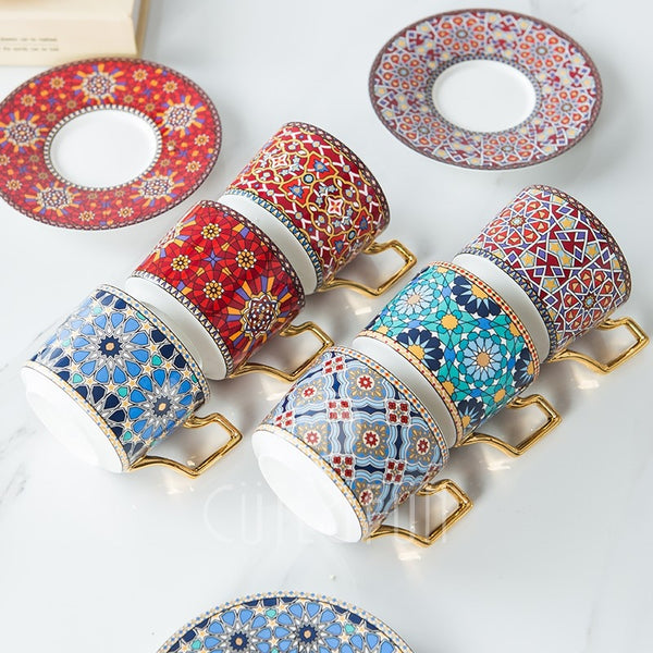 Moroccan Teacup Collection - Villa and Oak