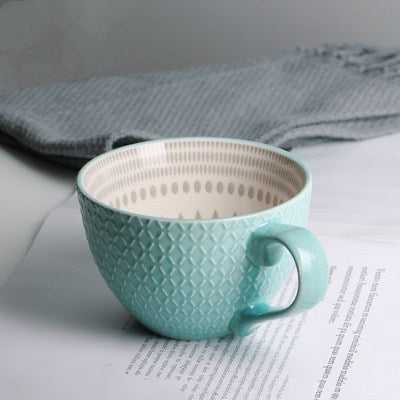 Autumn Teal Teacup - Villa and Oak