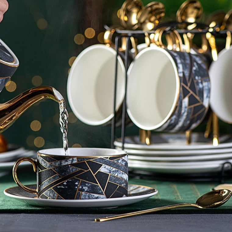 Eleganza Tea Set - Villa and Oak