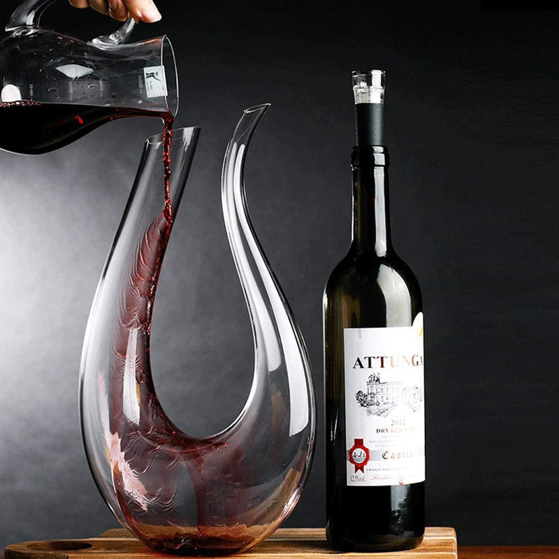 RONA Handmade Wine Decanter - Villa and Oak