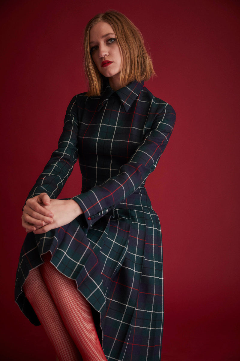 DUNCAN TARTAN DRESS