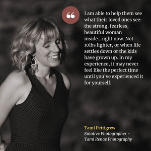 Diving In: Female Empowerment Through Boudoir Photography with Tami Pettigrew