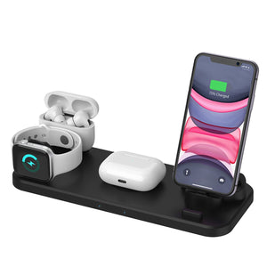 6-in-1 Wireless Charging Station