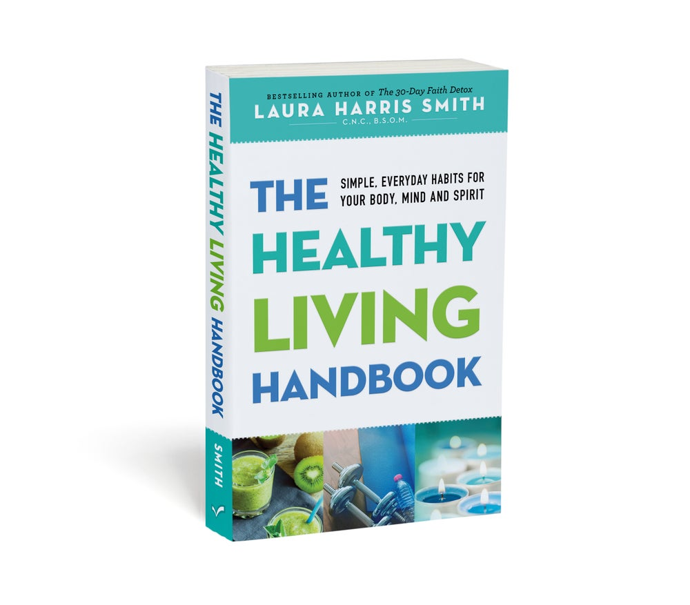 THE HEALTHY LIVING HANDBOOK (signed copy)
