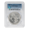 1881 Morgan Silver Dollar San Francisco - PCGS MS64 Sight White