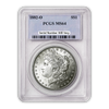 1882 Morgan Silver Dollar New Orleans - PCGS MS64