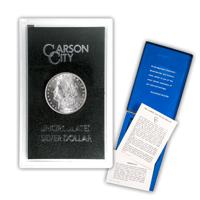 1883 Morgan Silver Dollar Carson City - GSA