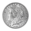 1884 Morgan Silver Dollar New Orleans - Brilliant Uncirculated
