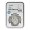 1885 Morgan Silver Dollar New Orleans - NGC MS64 Sight White