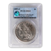 1885 Morgan Silver Dollar New Orleans - PCGS MS64 Sight White McClaren