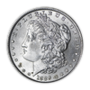 1889 Morgan Silver Dollar Philadelphia - Brilliant Uncirculated - CoinsTV