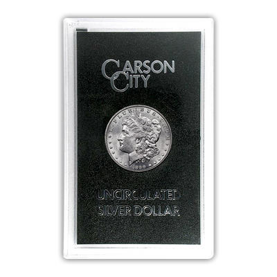 1890 Morgan Silver Dollar Carson City - GSA