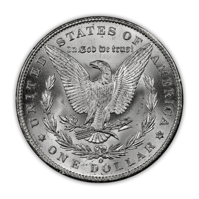 1898 Morgan Silver Dollar New Orleans - Brilliant Uncirculated