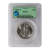 1945 Walking Liberty Silver Half Dollar San Francisco - PCGS MS64 Sight White Green Holder