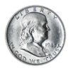 1948 Franklin 90% Silver Half Dollar Philadelphia - Uncirculated