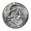 1953 Franklin 90% Silver Half Dollar San Francisco - Uncirculated