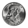 1954 Franklin 90% Silver Half Dollar Philadelphia - Uncirculated
