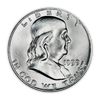 1959 Franklin 90% Silver Half Dollar Denver - Uncirculated