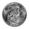 1960 Franklin 90% Silver Half Dollar Philadelphia - Uncirculated