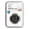 1961 Franklin Silver Half Dollar - NGC PF68 Sight White