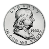 1962 Franklin 90% Silver Half Dollar Philadelphia - Proof