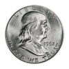 1962 Franklin 90% Silver Half Dollar Philadelphia - Uncirculated