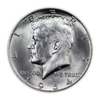 1964 Kennedy Silver Half Dollars - Uncirculated 2 pc P/D Set