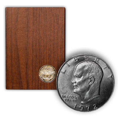 1972 Eisenhower 40% Silver Dollar San Francisco - Proof Brown Pack (OGP)