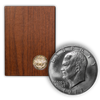 1973 Eisenhower 40% Silver Dollar San Francisco - Proof Brown Pack (OGP)