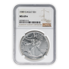 1989 Silver Eagle - Business Strike - NGC MS69 Star
