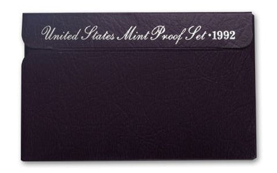 1992 US Proof Set - 5 Coins