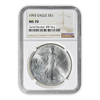 1993 Silver Eagle - Business Strike - NGC MS70 - CoinsTV