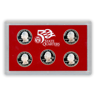 2008 Silver Proof Set - 14 Coins