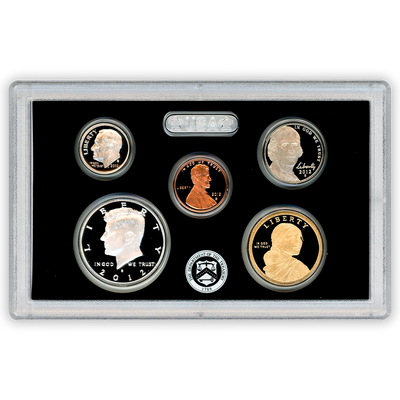 2012 Silver Proof Set - 14 Coins