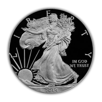 2014 Silver Eagle - West Point Proof - Original Government Packaging (OGP)