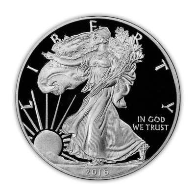 2016 Silver Eagle - West Point Proof - Original Government Packaging (OGP)