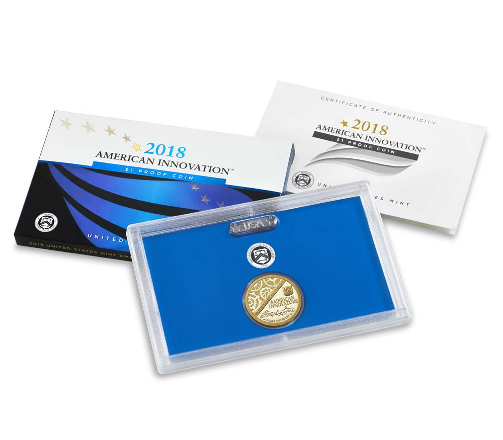 2018 Innovation Dollar San Francisco Proof - Original Government Packaging (OGP)