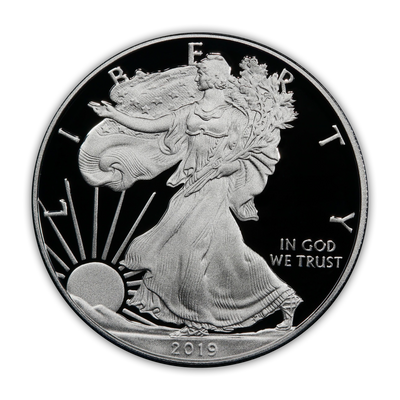 2019 Silver Eagle - West Point Proof - Original Government Packaging (OGP)