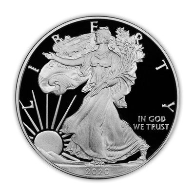 2020 Silver Eagle - San Francisco Proof - Original Government Packaging (OGP)