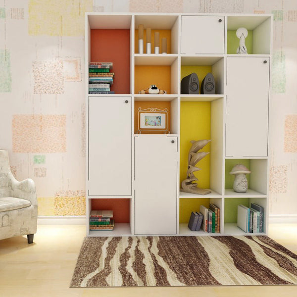 Jenifer Cabinet Storage - Solid Plywood