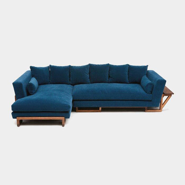 Diaz Left Aligned Sectional Sofa - 3 Seater