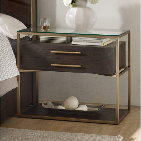 Goldi Luxury Nightstand - Solid Plywood - FurnLane - Bespoke Luxury