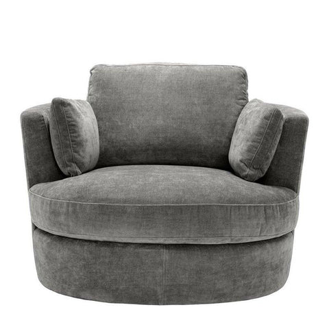 Primo  Round Sofa - 1 Seater - FurnLane - Bespoke Luxury