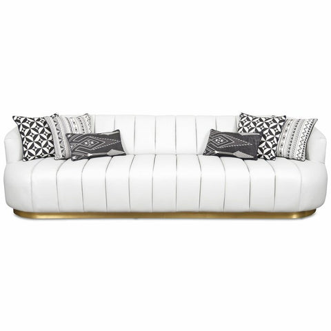 Siana 3 Seater Premium Arm Sofa - FurnLane - Bespoke Luxury