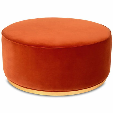 Velvo Coffee Ottoman (Red) - FurnLane - Bespoke Luxury