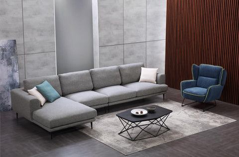 Aiden Left Aligned Sectional Sofa   - 4 Seater - FurnLane - Bespoke Luxury