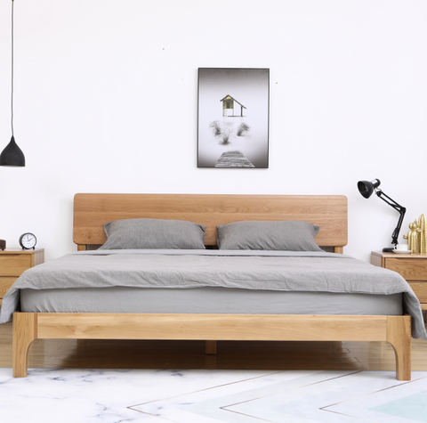 Mia Platform Bed - Queen Size - FurnLane - Bespoke Luxury