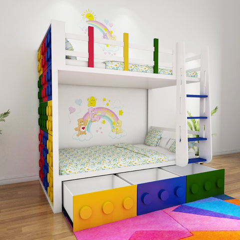 Williams  Kids Loft Bed - Solid Plywood