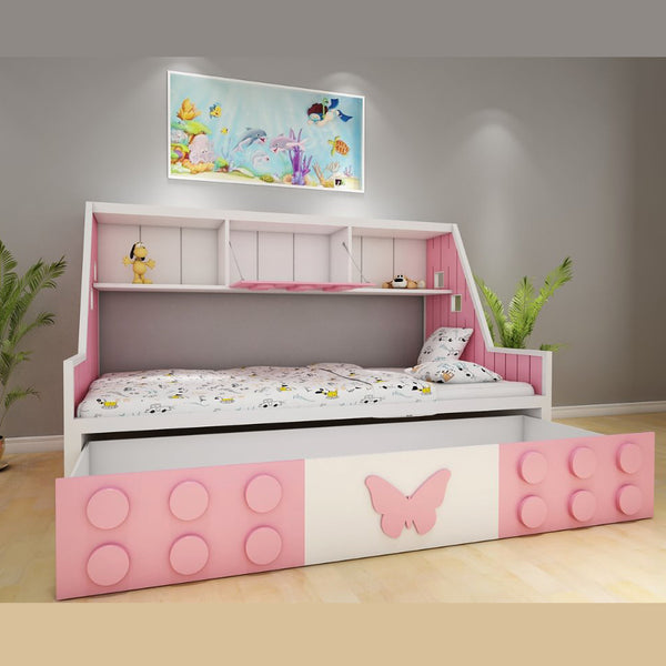 Kidos  Bed for Princess - Solid Plywood